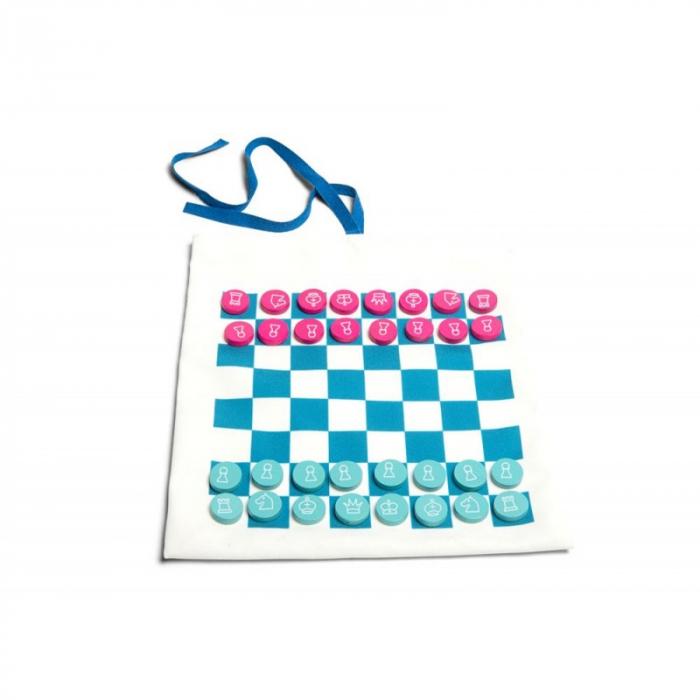 Jocuri de călătorie Sah , Dame , Tic Tac Toe ( X si 0 ), BS Toys 0