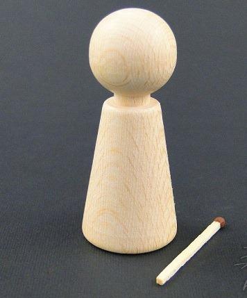 Pion - omulet lemn 0