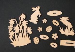 Figurine din placaj 3D - Paste [2]