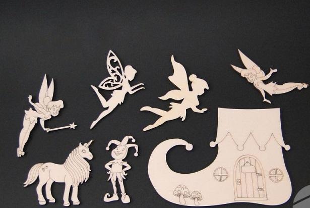 Set figurine basm - unicorn / zane 0