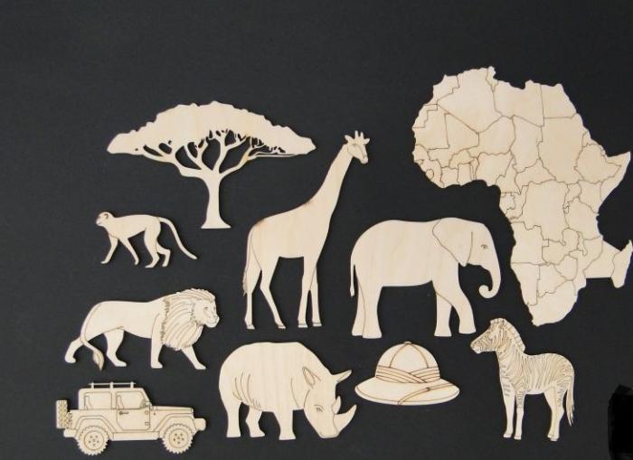 Set figurine calatorie / safari [0]