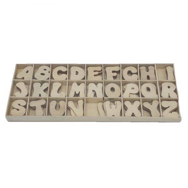 Set litere blank - alfabetar 0