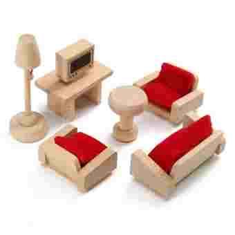 Mobila living - mobilier pentru joc de rol/ casa de papusi [0]
