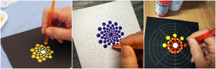 Set tije - pictura punct cu punct ( cu puncte) 1