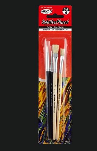 Set pensula de hobby si scoala 0