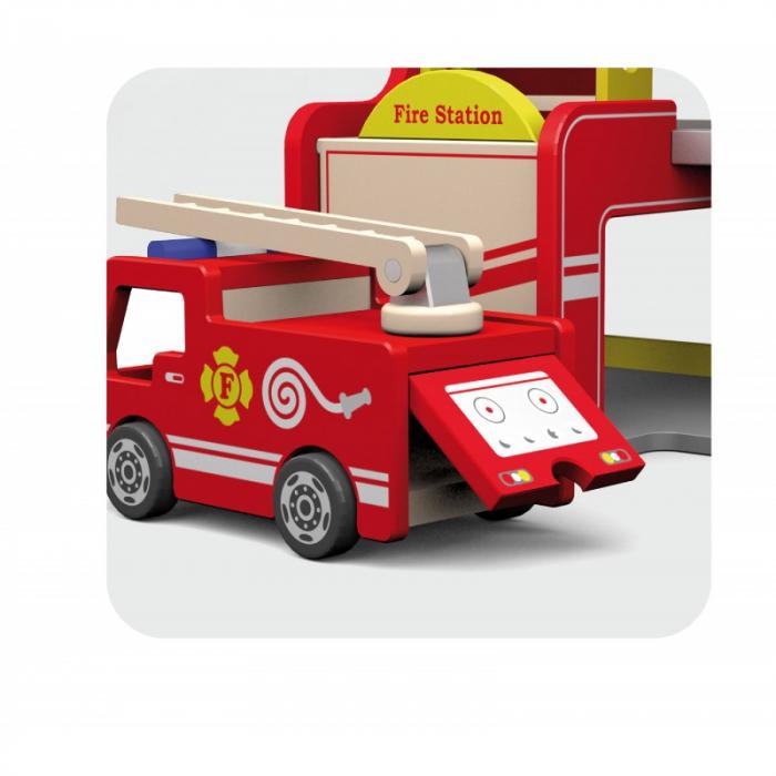 Statie de pompieri - Viga 3