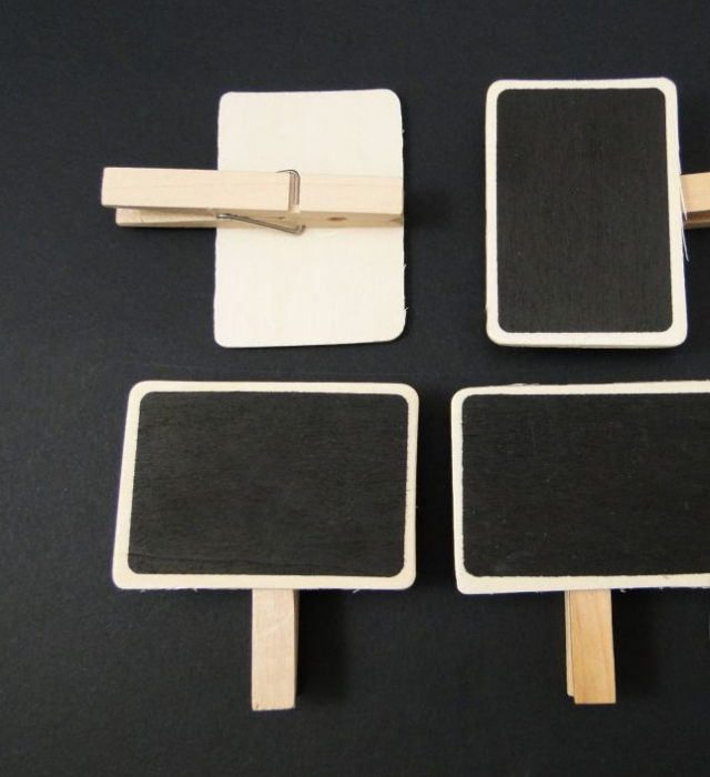 Tablita pe clema 7x4.5 cm set de 4 [0]