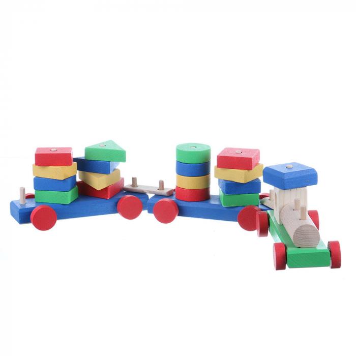 Tren cu forme geometrice 0