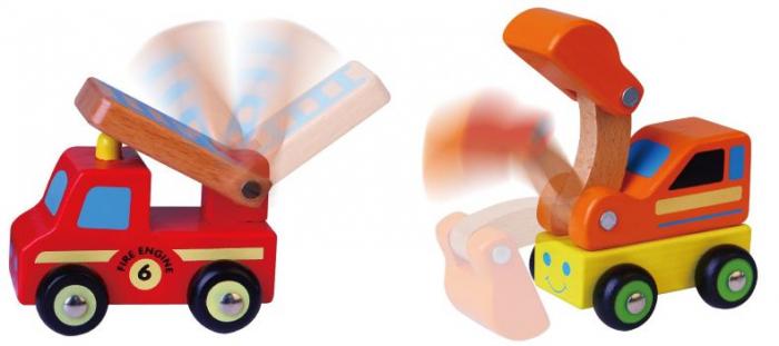 Set de 6 vehicule mini - serviciul de urgente Viga [1]