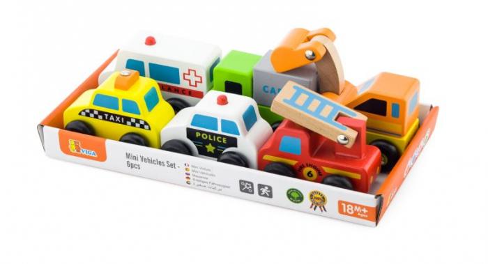 Set de 6 vehicule mini - serviciul de urgente Viga [3]