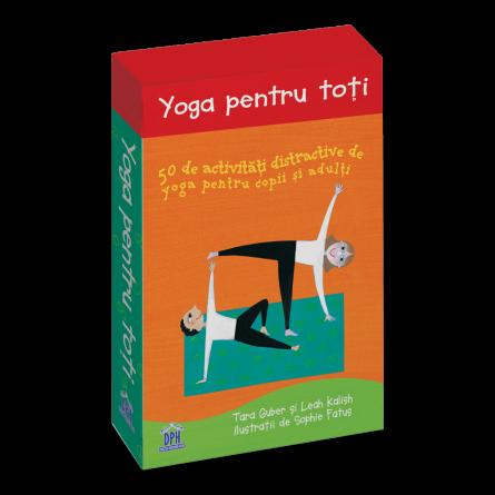 Yoga pentru toti: 50 de activitati distractive de yoga pentru copii si adulti [0]