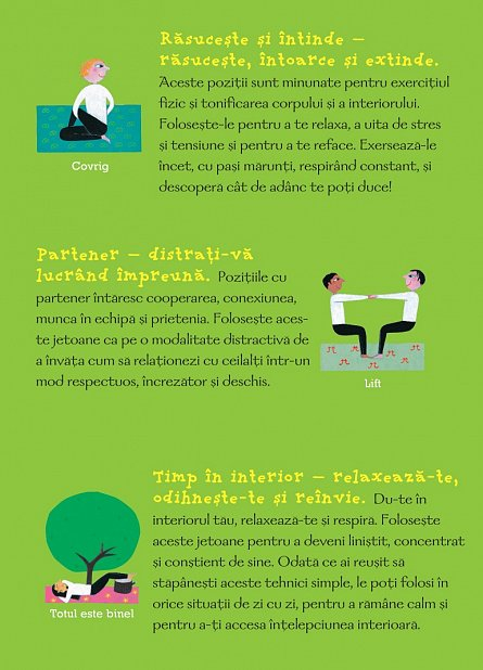 Yoga pentru toti: 50 de activitati distractive de yoga pentru copii si adulti [3]