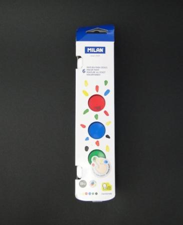 Acuarele pentru pictura cu degete set Milan0