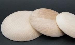 Buline mandala din lemn 14 cm - baza tehnica Dotting art (pictura cu puncte, pictura punct cu punct)1