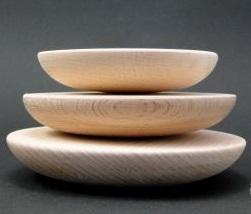 Buline mandala din lemn 12 cm - baza tehnica Dotting art (pictura cu puncte, pictura punct cu punct) [0]
