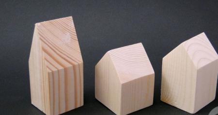 Casuta mini din lemn - set [0]