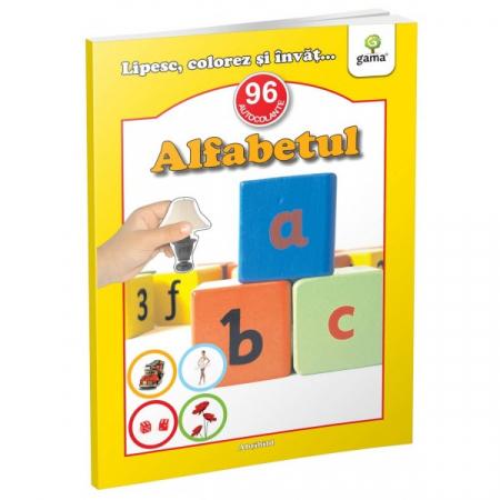 Alfabetul - abtibild - carte cu activitati [0]