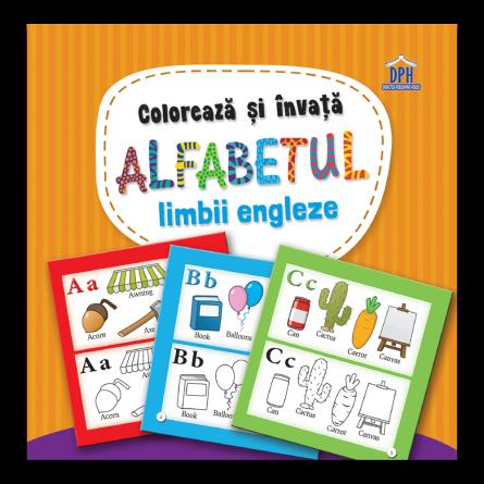 Coloreaza si invata alfabetul limbii engleze: Carte de colorat [0]