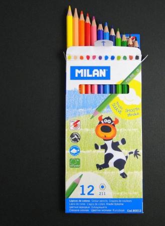 Creioane colorate - Milan0