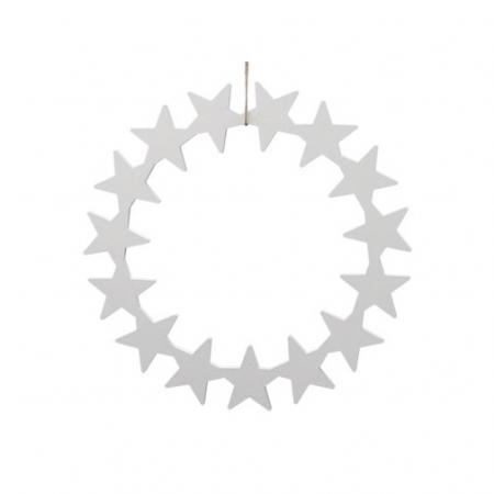 Coronita din stele de lemn [0]