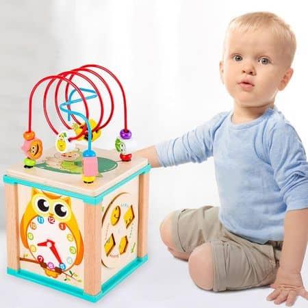 Cub educativ multifunctional - bufnita0