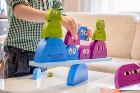 Joc de echilibru Prietenii mei BS Toys [4]