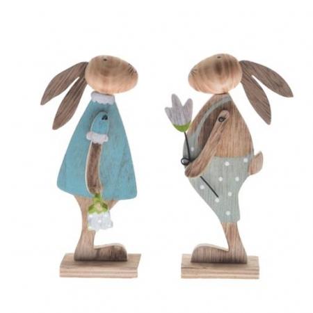 Iepure decorativ din lemn [0]