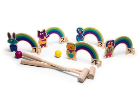 Joc de cricket Curcubeu BS Toys [1]