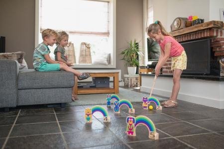 Joc de cricket Curcubeu BS Toys [2]