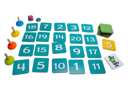 Joc matematic Tinutele crocodilului BS Toys2