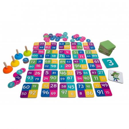 Joc matematic Tinutele crocodilului BS Toys0