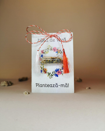 Plantisor - martisor cu seminte de flori Zana de Vara1
