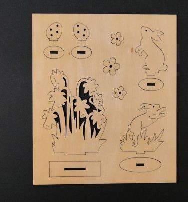 Figurine din placaj 3D - Paste [1]