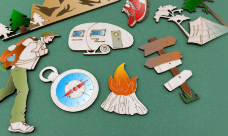 Set figurine calatorie / camping [1]