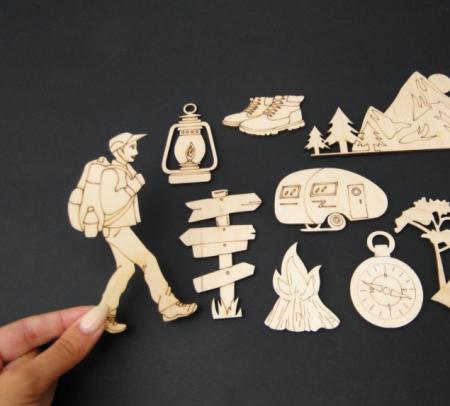 Set figurine calatorie / camping [2]