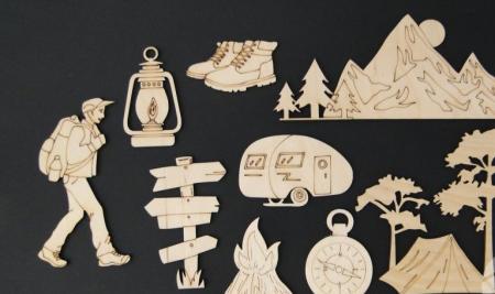 Set figurine calatorie / camping [0]