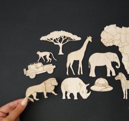 Set figurine calatorie / safari [1]