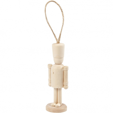 Figurina lemn - spargator de nuci0