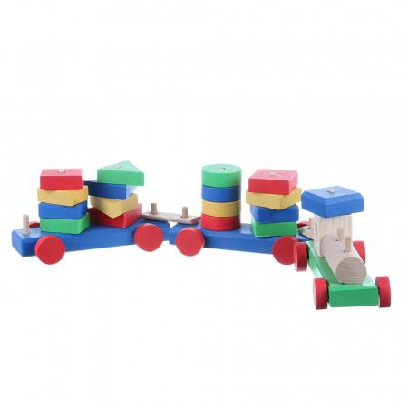 Tren cu forme geometrice0