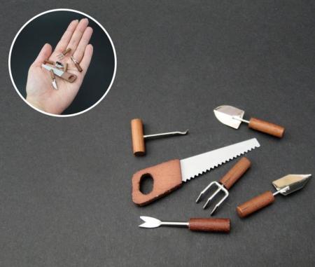 Ustensile in miniatura pentru minigradina - set [1]