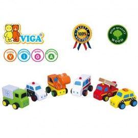 Set de 6 vehicule mini - serviciul de urgente Viga [2]