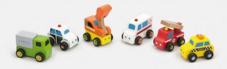 Set de 6 vehicule mini - serviciul de urgente Viga [0]