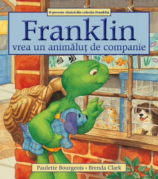 """""""Franklin vrea un animăluț de companie"""" 0"""