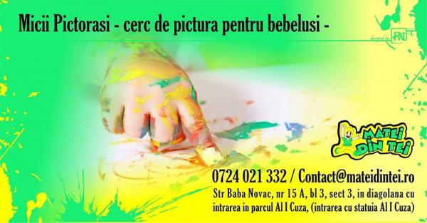 Micii Pictorasi - cerc de pictura pentru bebelusi