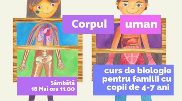 ABC - ul biologiei - Corpul Uman pentru copii 4 - 7 ani