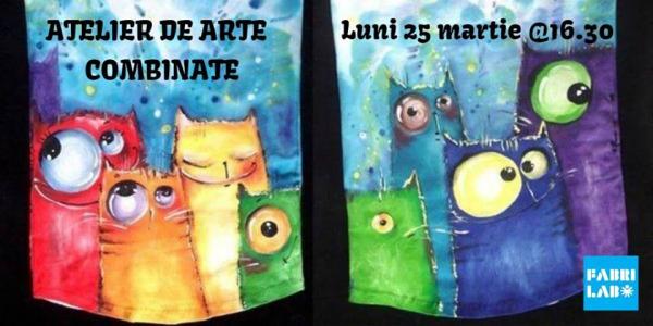 Ateliere de creatie si arta. Copiii invata sa picteze in culori acrilice si acuarela