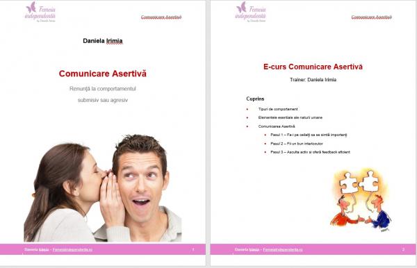Curs Comunicare Asertiva si empatica – Pachet complet: curs audio, curs scris si training 1 la 1