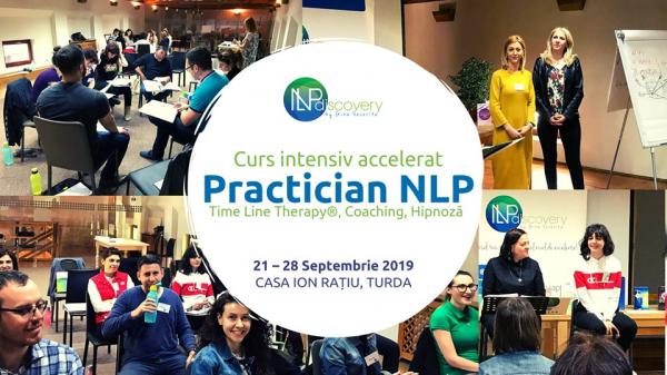 Curs intensiv accelerat Practician NLP Time Line Therapy®, Coaching, Hipnoză