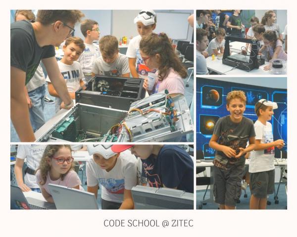 Cursurile Code School Club 1