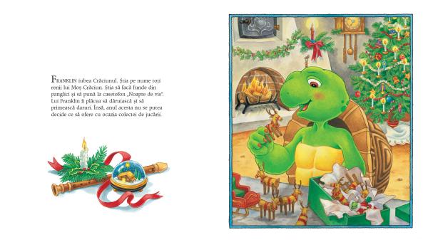 """""""Franklin și cadoul de Crăciun"""" 3"""